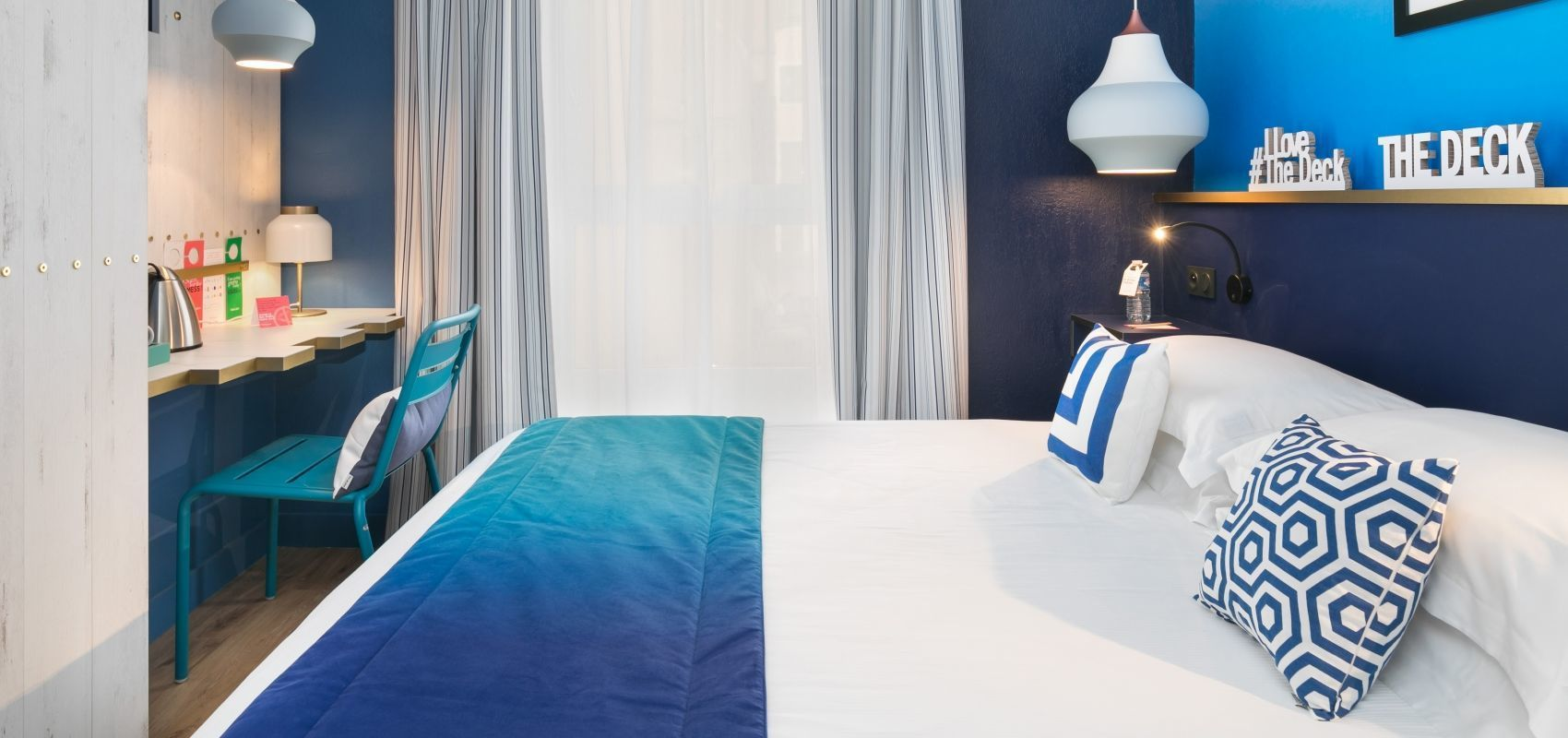 The Deck Hotel par HappyCulture - Chambre